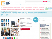 MDM Infrastructure and Services 2014 - 2019