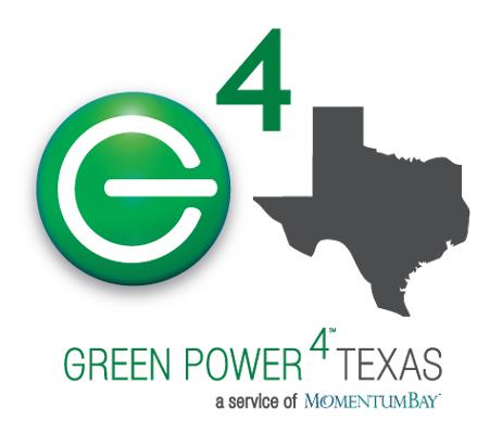 GREEN POWER 4 TEXAS logo'