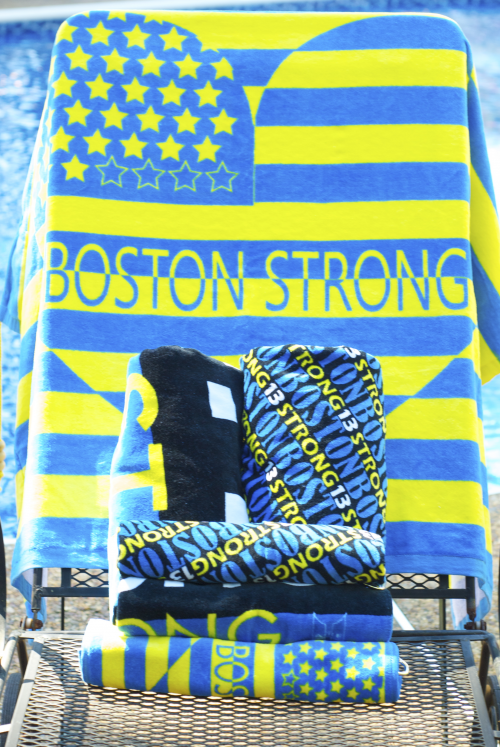 Aire Collection of Towels - Boston Strong Golf/Sports Towels'