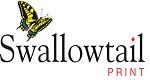 Swallowtail Print Logo