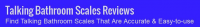 Talking Bathroom Scales Reviews Logo