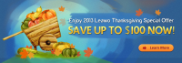 Leawo 2013 Thankgiving Special Offer