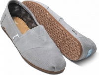 TOMS Men's Movember Grey Suede Seasonal Classic Shoes