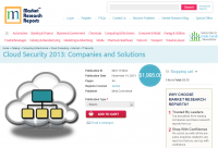 Cloud Security 2013: Companies and Solutions