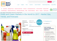 Polish and Cream Markets in the World to 2017