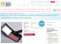 Make-Up, Skin Care and Beauty Product Markets in Europe 2017
