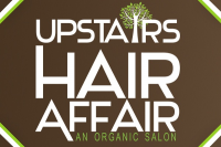 Upstairs Hair Affair Logo