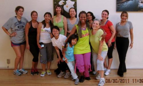 Zumba Class Participants'