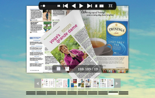 PDF to flash flip magazine'