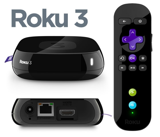 Roku 3, 2, HD, LT, XS, XD Streaming Player Cyber Monday
