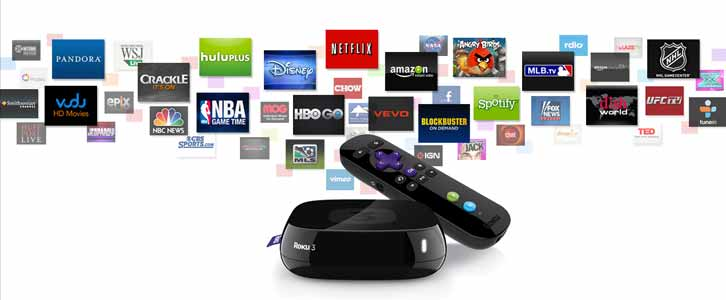 Roku 3, 2, HD, LT, XS, XD Streaming Player Black Friday