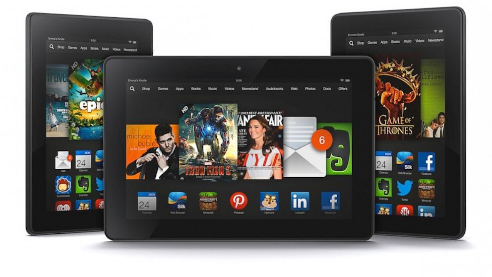 Kindle Fire HD, HDX, 7, 8.9, Paperwhite 3G Cyber Monday &amp