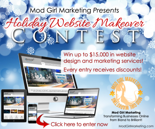 Website Makeover Contest by Mod Girl Marketing'