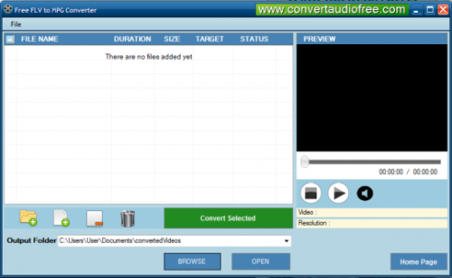 Convert FLV to MP4'