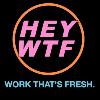 HEY WTF Records LLC Logo