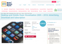 Desktop and Mobile Music Monetization 2005 - 2016
