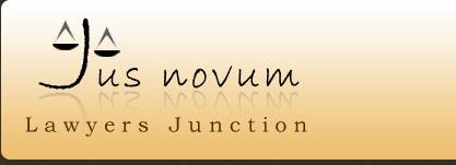 Logo for Jus Novum'