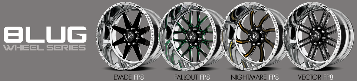 Faceplate 8 Lug designs