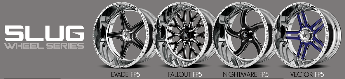 Faceplate 5 Lug designs