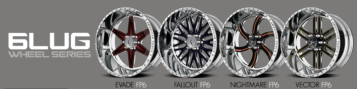 Faceplate 6 Lug designs