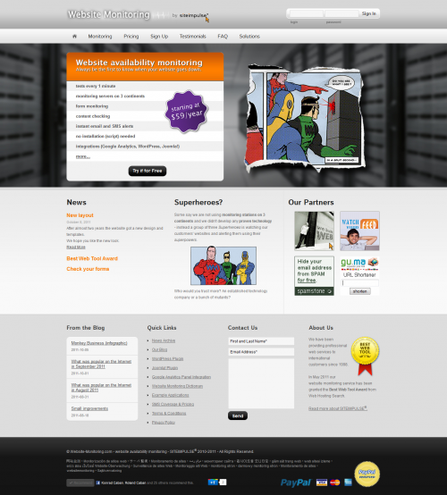 Screenshot - Homepage'