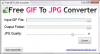 GIF to JPG'