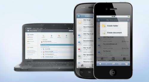 Teamlab Mobile Document Management'