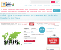 Global Digital Economy - E-Health, E-Government and E-Educat
