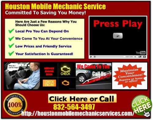 Houston Mobile Mechanic Services'