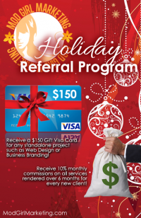 Earn Easy Holiday Cash with Mod Girl's Referra