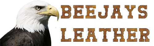 BeeJays Leather Logo'