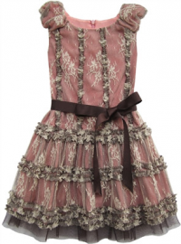 Koko Blush & Company: Girls Pink Dress