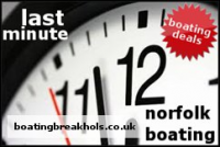Last Minute Norfolk Broads Boat Hire