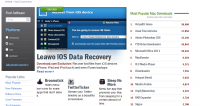 Leawo iOS Data Recovery Featured on CNET