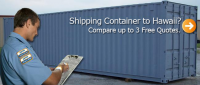 Container to Hawaii