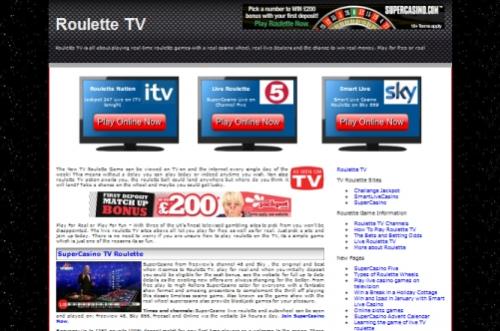Roulette TV'