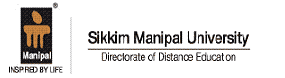 Logo for Sikkim Manipal University of Distance Education'
