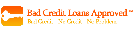 Bad Credit Loans Approved'