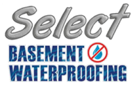 Select Basement Waterproofing Logo