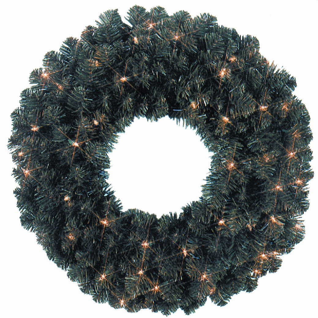 Holiday Lighting (wreath)