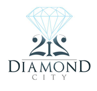 212 Diamond City Logo