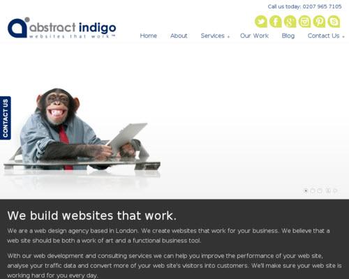 Abstract Indigo'