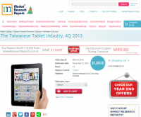 The Taiwanese Tablet Industry, 4Q 2013