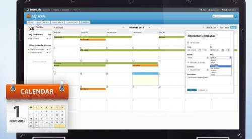 Teamlab Calendar'