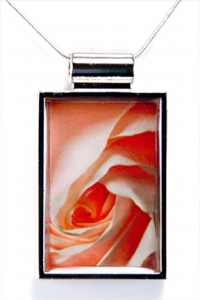 Silver Pendant - Sweet Rose (donation)