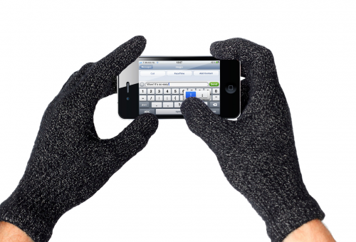 Mujjo touch screen gloves'