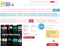 Digital Advertising: Market Opportunities and Forecast 2013