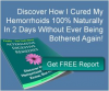 how to get rid of hemorrhoids at home'
