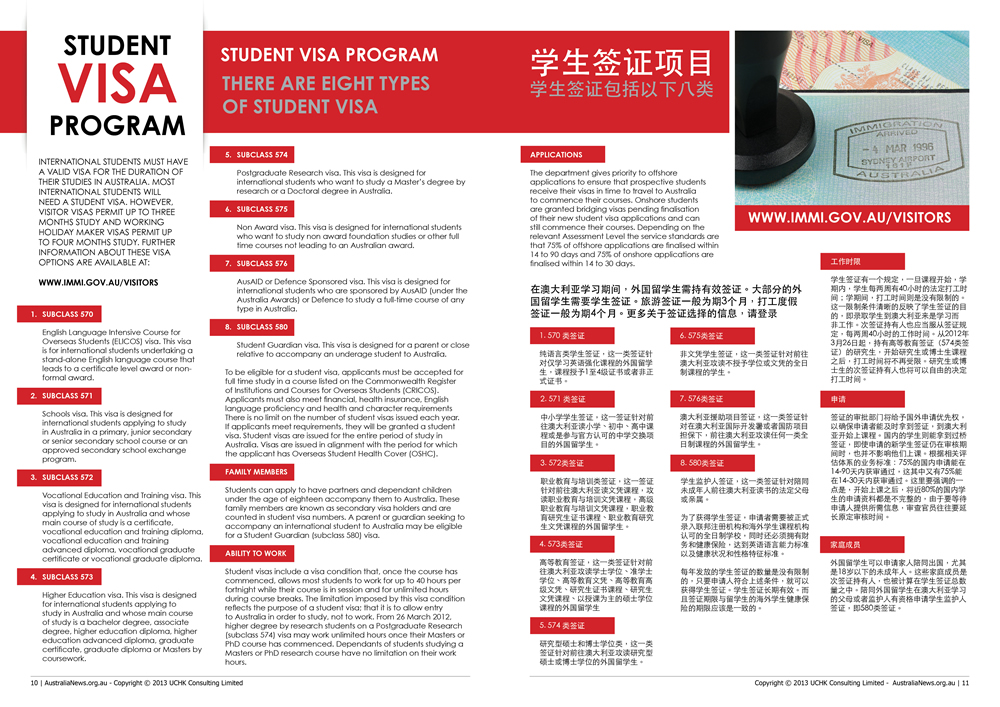 Education Visa