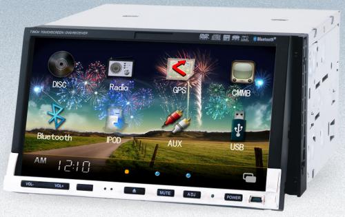 Somicar JS-3321, 7 inch 2din car dvd player gps'